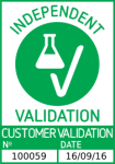'Independent Validation' Badge