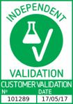 'Independent Validation' Badge