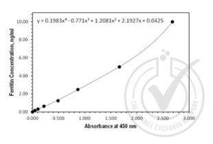 Immunohistochemistry validation image for Ferritin (FE) ELISA Kit (ABIN1114880)