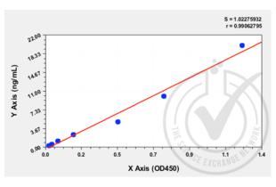 ELISA validation image for Matrix Metallopeptidase 9 (Gelatinase B, 92kDa Gelatinase, 92kDa Type IV Collagenase) (MMP9) ELISA Kit (ABIN818177)