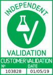 '独立验证'标志