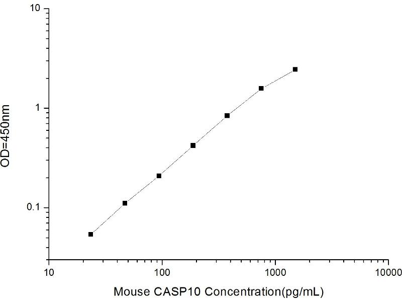 Caspase 10, Apoptosis-Related Cysteine Peptidase (CASP10) ELISA Kit (2)