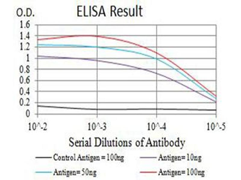 ELISA image for anti-BCL2-Antagonist/killer 1 (BAK1) (AA 29-187) antibody (ABIN5611250)