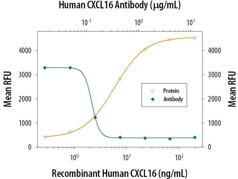 Neutralization (Neut) image for anti-Chemokine (C-X-C Motif) Ligand 16 (CXCL16) (AA 49-137) antibody (ABIN4900386)