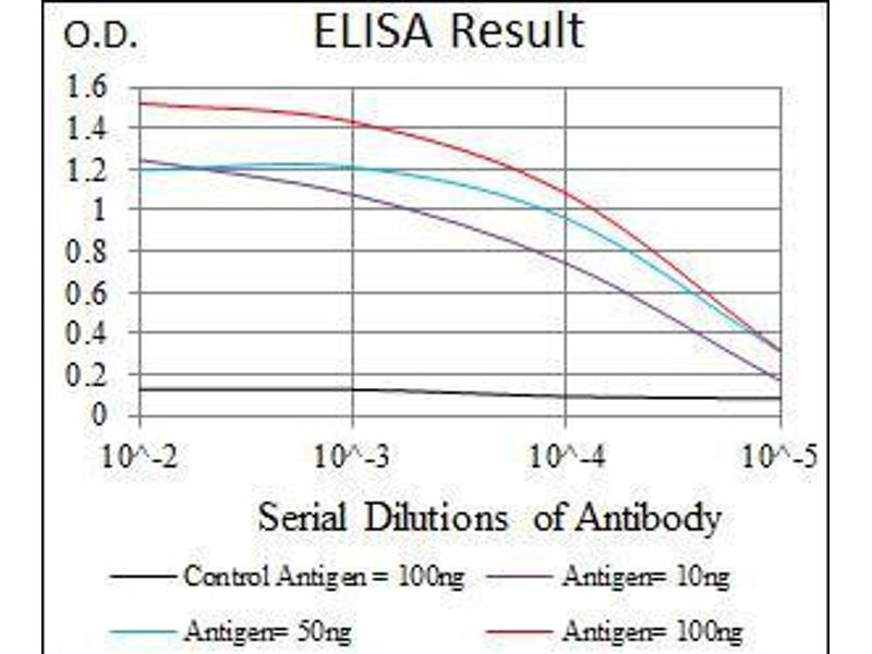 ELISA image for anti-PLK1 antibody (Polo-Like Kinase 1) (AA 331-508) (ABIN969580)