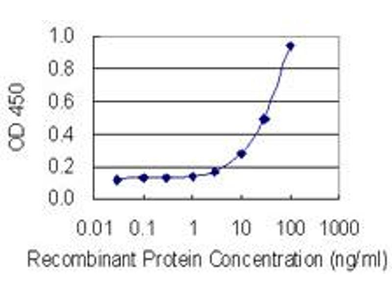 ELISA image for anti-Plasminogen (PLG) (AA 21-120), (partial) antibody (ABIN562271)