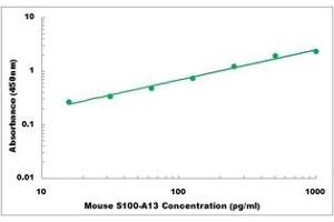 Image no. 1 for S100 Calcium Binding Protein A13 (S100A13) ELISA Kit (ABIN5526816)