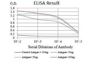 ELISA image for anti-Epidermal Growth Factor Receptor (EGFR) (AA 693-893) antibody (ABIN1724890)
