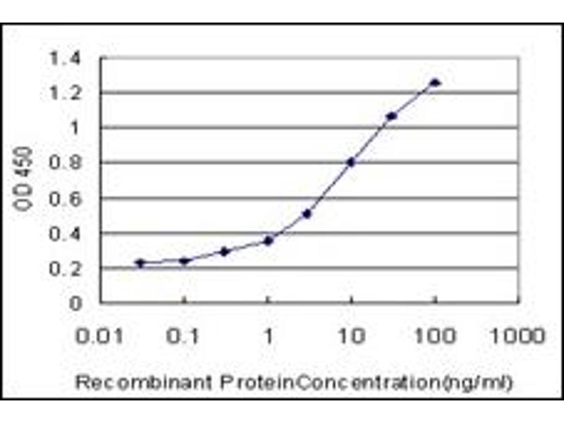 ELISA image for anti-EPH Receptor B6 (EPHB6) antibody (ABIN781859)