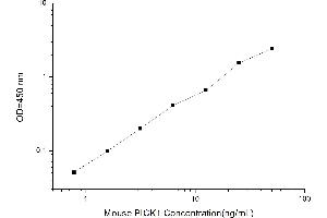 Image no. 1 for Protein Interacting With Protein Kinase C, alpha 1 (PICK1) ELISA Kit (ABIN1116760)