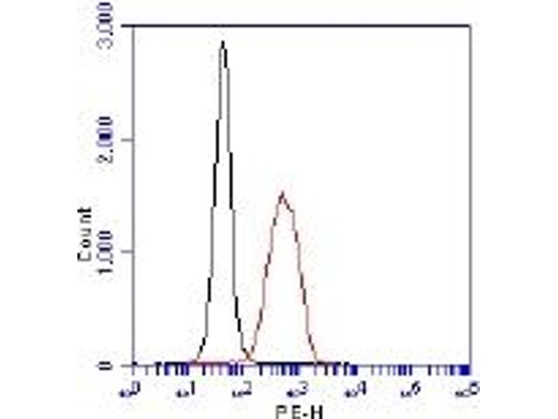 Flow Cytometry (FACS) image for anti-Egl Nine Homolog 1 (C. Elegans) (EGLN1) (AA 1-50) antibody (ABIN151071)