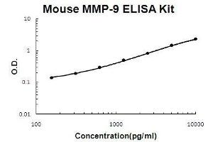 Image no. 1 for Matrix Metallopeptidase 9 (Gelatinase B, 92kDa Gelatinase, 92kDa Type IV Collagenase) (MMP9) ELISA Kit (ABIN411334)