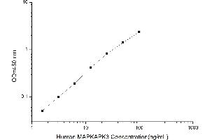 Image no. 1 for Mitogen-Activated Protein Kinase-Activated Protein Kinase 3 (MAPKAPK3) ELISA Kit (ABIN1116006)