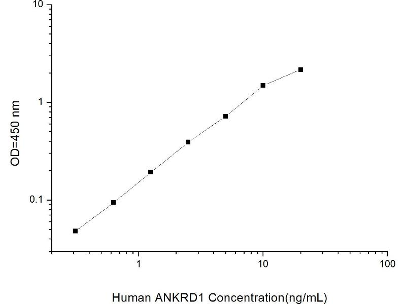 Ankyrin Repeat Domain 1 (Cardiac Muscle) (ANKRD1) ELISA Kit (2)
