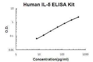 ELISA image for IL5 ELISA Kit (Interleukin 5) (ABIN921063)