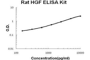 ELISA image for HGF ELISA Kit (Hepatocyte Growth Factor (Hepapoietin A, Scatter Factor)) (ABIN1889441)
