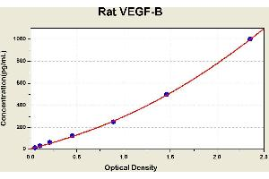 ELISA image for VEGFB ELISA Kit (Vascular Endothelial Growth Factor B) (ABIN1117753)