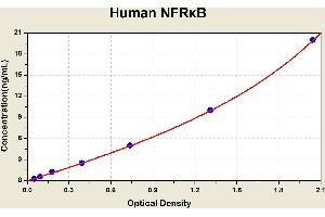 Image no. 1 for Nuclear Factor Related To KappaB Binding Protein (NFRKB) ELISA Kit (ABIN1116220)