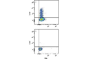 Flow Cytometry (FACS) image for anti-IL-10 antibody (Interleukin 10) (AA 1-178) (Alexa Fluor 488) (ABIN4895276)