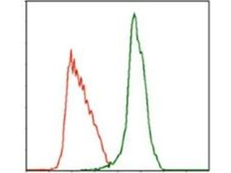 Flow Cytometry (FACS) image for anti-MPL antibody (Myeloproliferative Leukemia Virus Oncogene) (ABIN1105749)