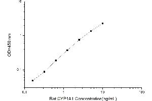 Image no. 1 for Cytochrome P450, Family 1, Subfamily A, Polypeptide 1 (CYP1A1) ELISA Kit (ABIN4993406)