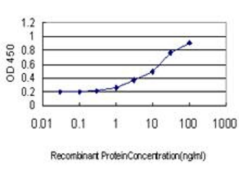 ELISA image for anti-Ubiquitin Specific Peptidase 47 (USP47) (AA 203-301) antibody (ABIN565811)
