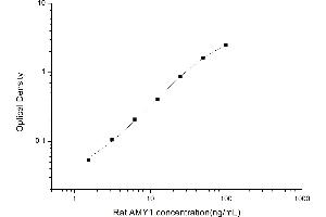 Image no. 1 for Amylase 1, Salivary (AMY1) ELISA Kit (ABIN6963319)
