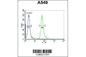 Flow Cytometry (FACS) image for anti-GNAT3 antibody (Guanine Nucleotide Binding Protein, alpha Transducing 3) (AA 78-105) (ABIN654441)