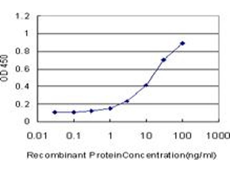 ELISA image for anti-V-Crk Sarcoma Virus CT10 Oncogene Homolog (Avian)-Like (CRKL) (AA 204-303), (partial) antibody (ABIN514606)