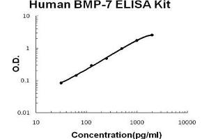 ELISA image for Bone Morphogenetic Protein 7 (BMP7) ELISA Kit (ABIN1672823)
