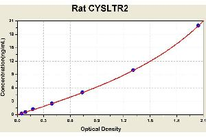 Image no. 1 for Cysteinyl Leukotriene Receptor 2 (CYSLTR2) ELISA Kit (ABIN1114513)