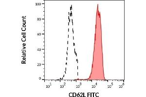 Image no. 3 for anti-Selectin L (SELL) antibody (FITC) (ABIN457338)
