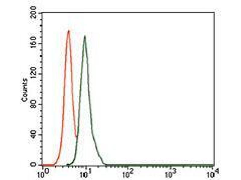 Flow Cytometry (FACS) image for anti-Secretoglobin, Family 1A, Member 1 (Uteroglobin) (SCGB1A1) (AA 26-91) antibody (ABIN1098131)