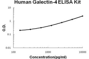 Image no. 1 for Lectin, Galactoside-Binding, Soluble, 4 (LGALS4) ELISA Kit (ABIN1889417)