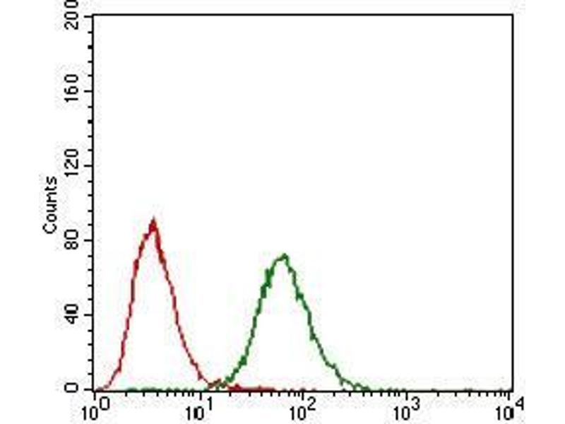 Flow Cytometry (FACS) image for anti-Fibroblast Growth Factor 4 (FGF4) (AA 62-123) antibody (ABIN4880289)