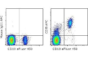 Flow Cytometry (FACS) image for anti-CR1 antibody (Complement Component Receptor 1 (CD35))  (APC) (ABIN2678717)