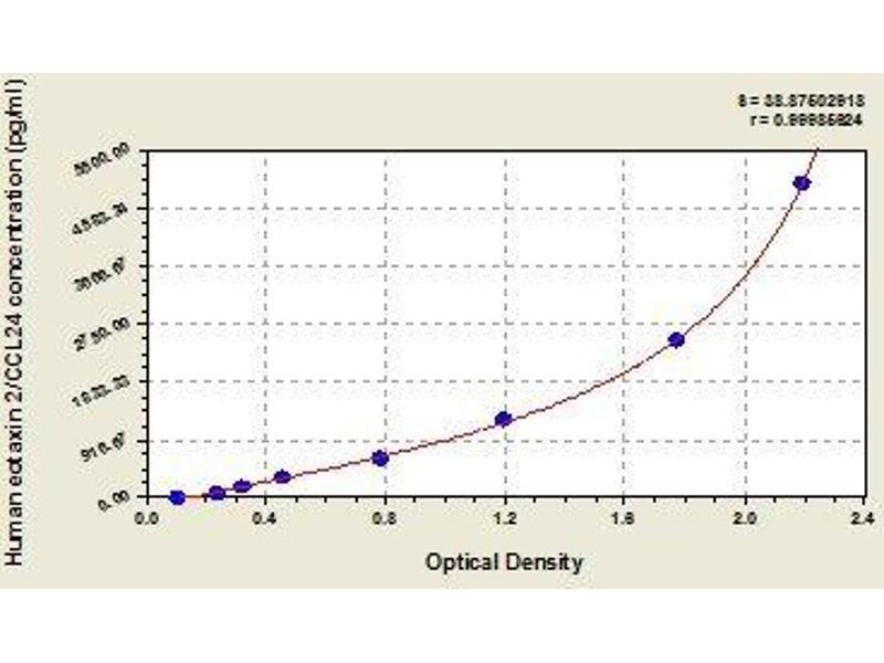 Chemokine (C-C Motif) Ligand 24 (CCL24) ELISA Kit (2)