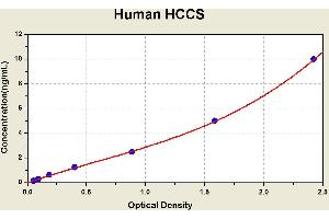 Image no. 1 for Holocytochrome C Synthase (HCCS) ELISA Kit (ABIN1115442)