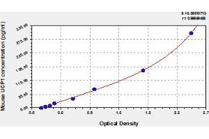 Image no. 1 for Uncoupling Protein 1 (Mitochondrial, Proton Carrier) (UCP1) ELISA Kit (ABIN6975656)