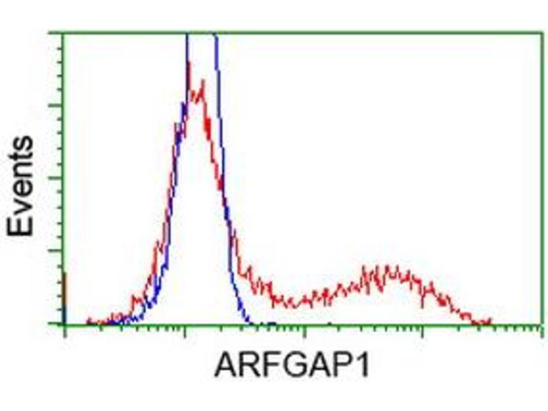 Flow Cytometry (FACS) image for anti-ARFGAP1 antibody (ADP-Ribosylation Factor GTPase Activating Protein 1) (ABIN2454349)