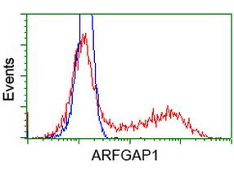Flow Cytometry (FACS) image for anti-ARFGAP1 antibody (ADP-Ribosylation Factor GTPase Activating Protein 1) (ABIN2454350)