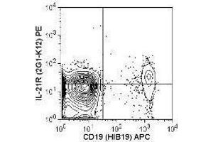 Flow Cytometry (FACS) image for anti-IL21 Receptor antibody (Interleukin 21 Receptor) (ABIN2664615)