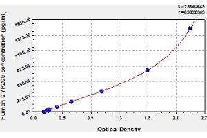 Image no. 1 for Cytochrome P450, Family 2, Subfamily C, Polypeptide 9 (CYP2C9) ELISA Kit (ABIN6974991)