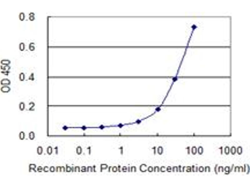 ELISA image for anti-Zyxin (ZYX) (AA 1-572), (full length) antibody (ABIN563471)