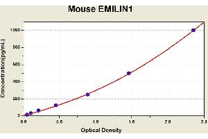 Image no. 1 for Elastin Microfibril Interfacer 1 (EMILIN1) ELISA Kit (ABIN1114717)