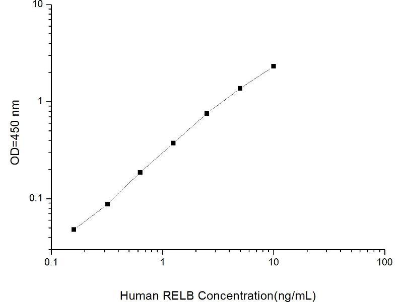 V-Rel Reticuloendotheliosis Viral Oncogene Homolog B (RELB) ELISA Kit (5)
