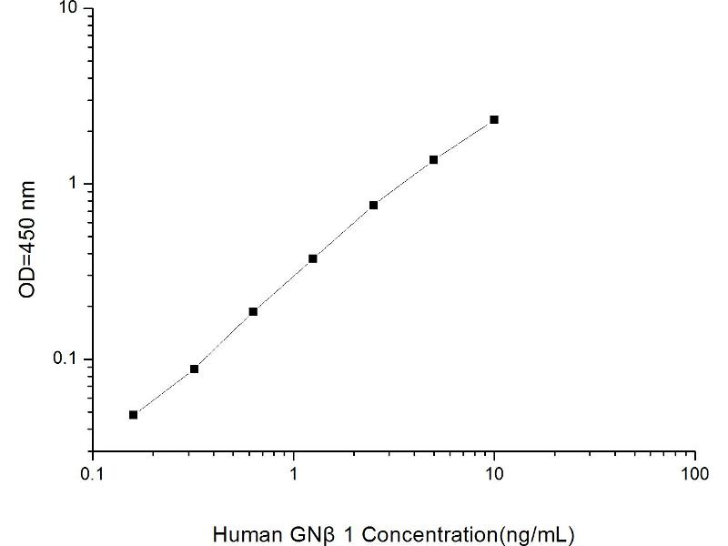 Guanine Nucleotide Binding Protein (G Protein), beta Polypeptide 1 (GNB1) ELISA Kit (2)