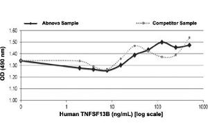 Image no. 1 for Tumor Necrosis Factor (Ligand) Superfamily, Member 13b (TNFSF13B) protein (ABIN5570884)