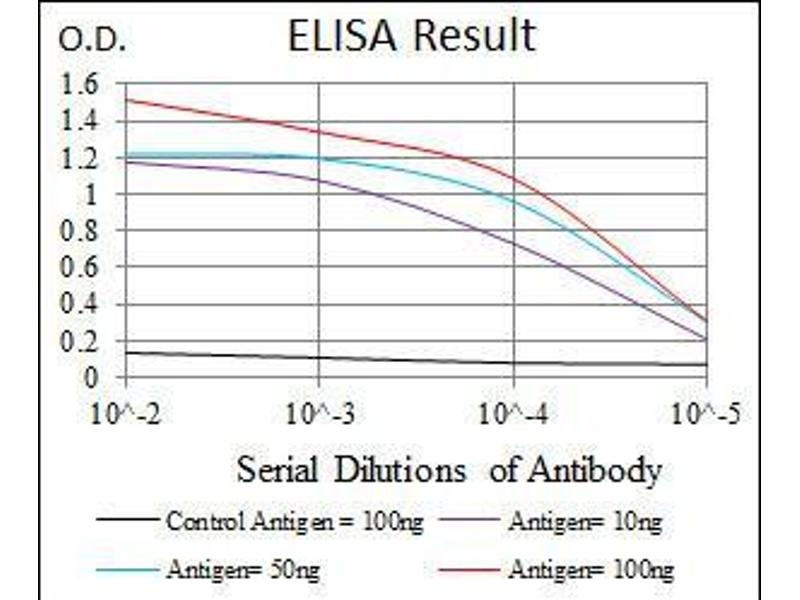 ELISA image for anti-Protein tyrosine Phosphatase, Non-Receptor Type 11 (PTPN11) (AA 263-329) antibody (ABIN1098117)