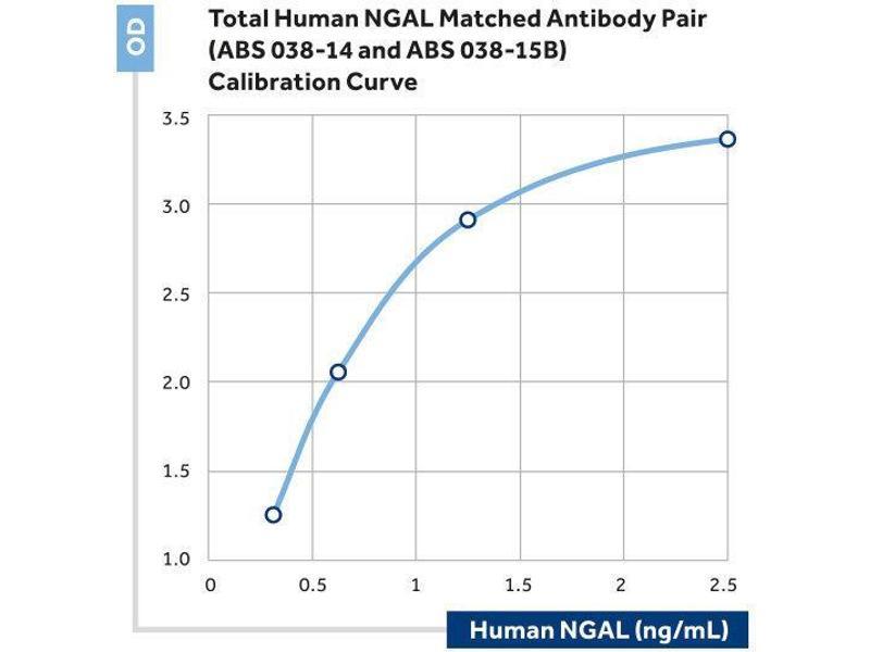 ELISA image for anti-Lipocalin 2 (LCN2) antibody (ABIN2192614)